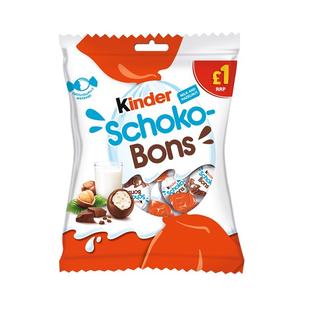 KINDER CHOCOBONS PRICE MARKED £1