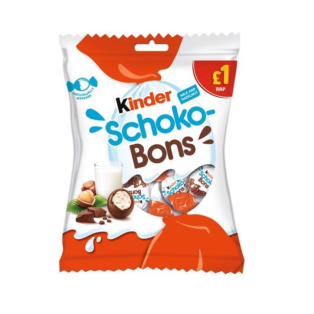 KINDER SCHOKO-BONS 69.6g £1 (12 PACK)