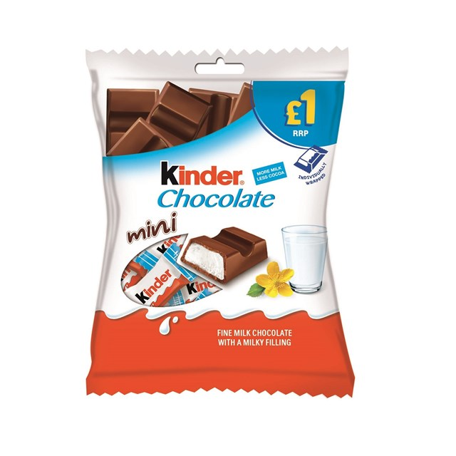 KINDER CHOC MINIS £1