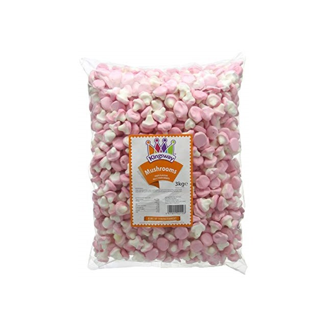 KINGSWAY 3KG FOAM MUSHROOMS