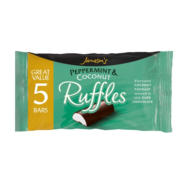 JAMESONS PEPPERMINT RUFFLES 5PACK