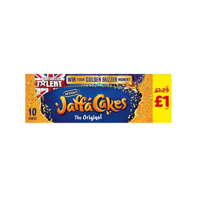 MCVITIES £1 JAFFA CAKES