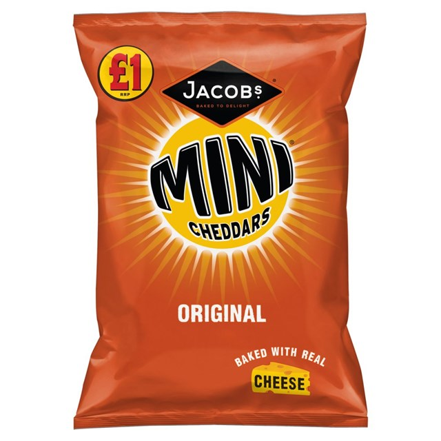 MINI CHEDDARS £1 ORIGINAL