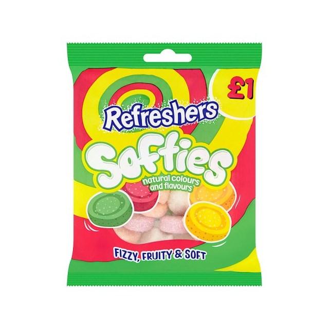 SOFTIES £1 REFRESHERS