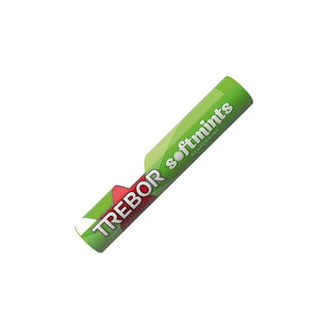 TREBOR SOFTMINTS PEPPERMINT 44g (40 PACK)