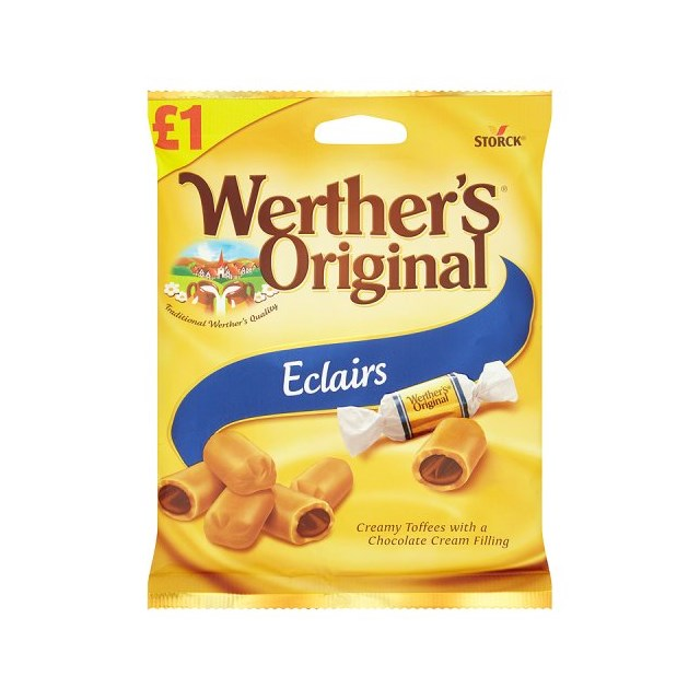 WERTHERS £1 ECLAIRS