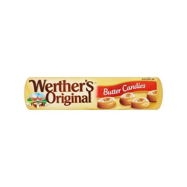 WERTHERS ORIGINAL BUTTER CANDIES 60P