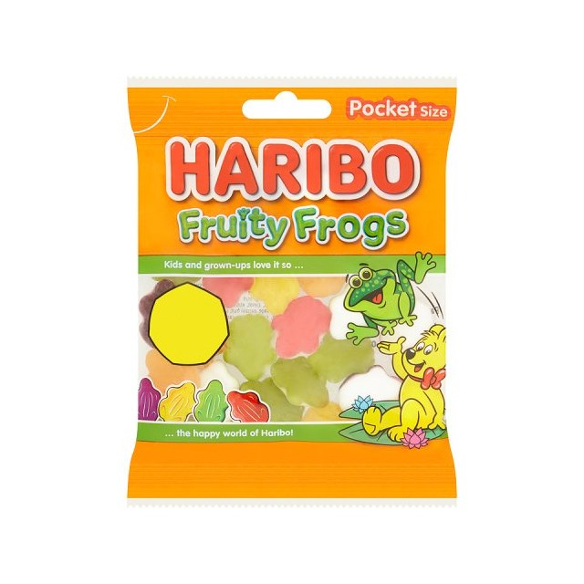HARIBO 50P FRUITY FROGS