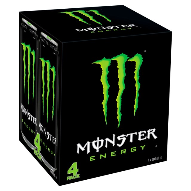 MONSTER ENERGY DRINK 500ml 6 x 4PACK