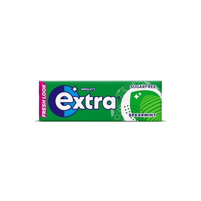 WRIGLEYS EXTRA SPEARMINT CHEWING GUM 30 PACKS