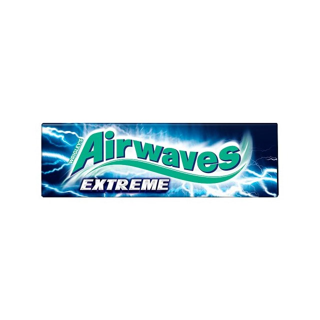 WRIGLEYS AIRWAVES EXTREME CHEWING GUM 30 PACKS