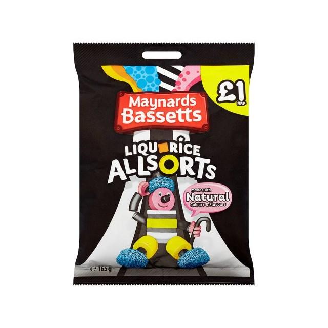 BASSETTS £1 LIQUORICE ALLSORTS