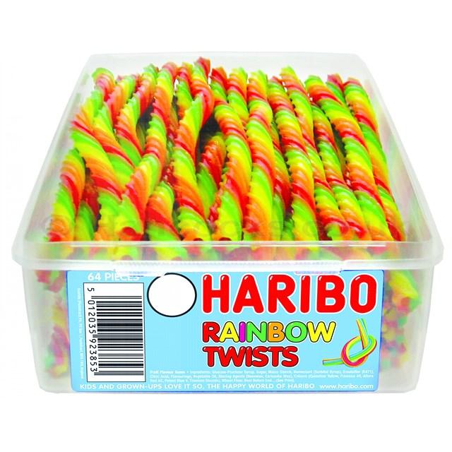 HARIBO 10p RAINBOW TWISTS