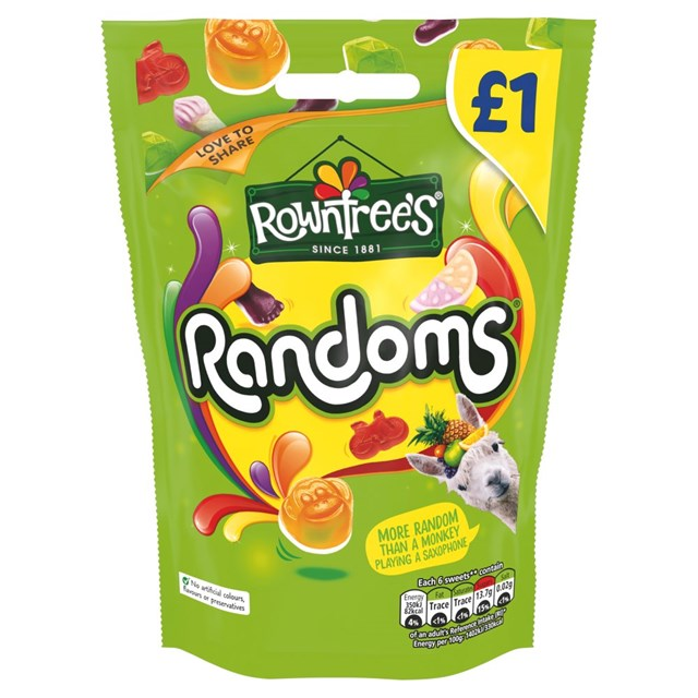 ROWNTREES £1 RANDOMS