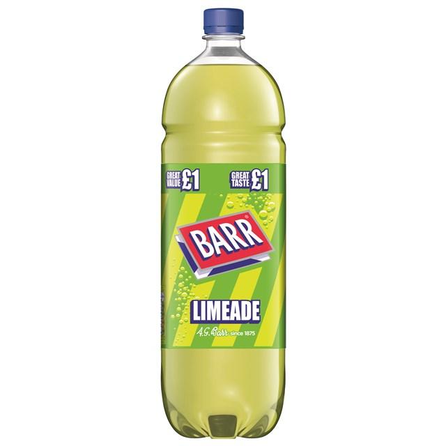 BARRS £1 LIMEADE