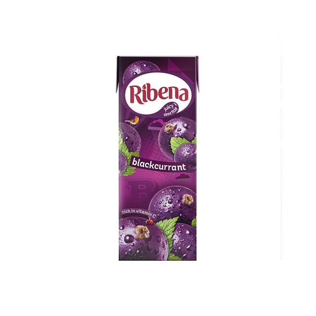 RIBENA BLACkCURRANT CARTON 250ml (24 PACK)