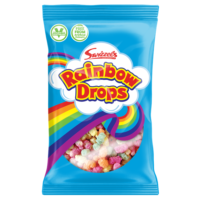 SWIZZELS 30p RAINBOW DROPS (24 PACK)