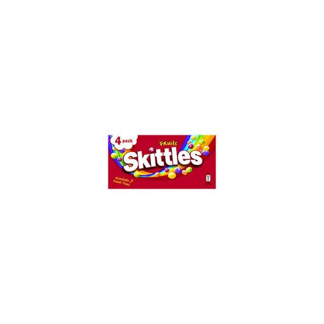 SKITTLES 4 PACK