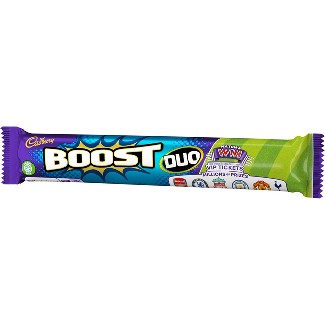 CADBURYS BOOST DUO 68g ( 32 PACK)