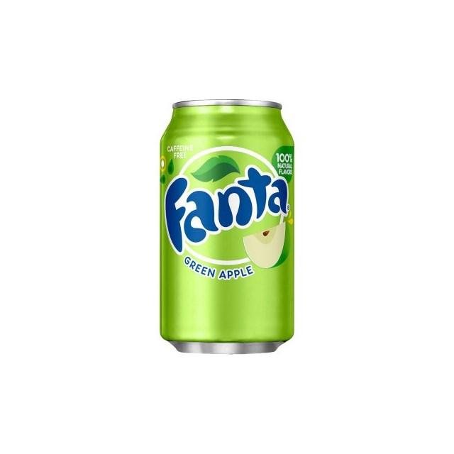 USA FANTA GREEN APPLE 355ml (12 PACK)