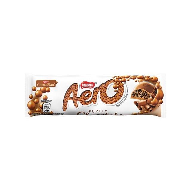 AERO MILK CHOCOLATE 36g (24 PACK)