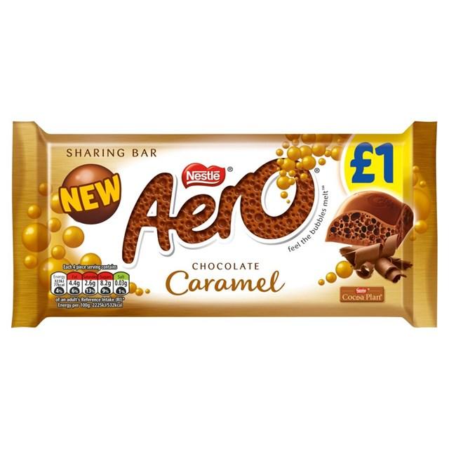 AERO CARAMEL 90g £1 (15 PACK)