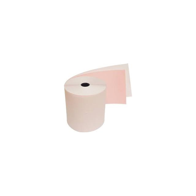TILL ROLL 2 PLY WHITE/PINK #055