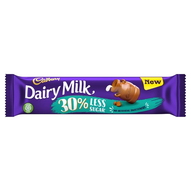 DAIRY MILK 30% LESS SUGAR