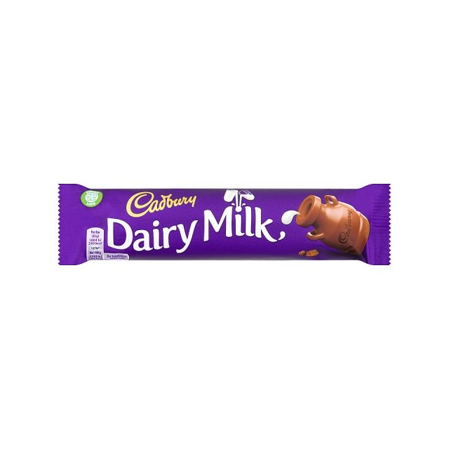 CADBURYS DAIRY MILK 45g (48 PACK)