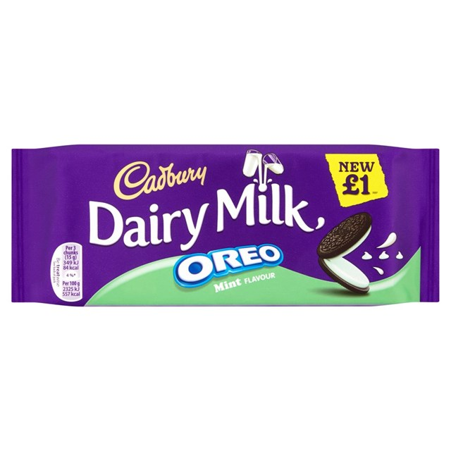 DAIRY MILK £1 MINT OREO