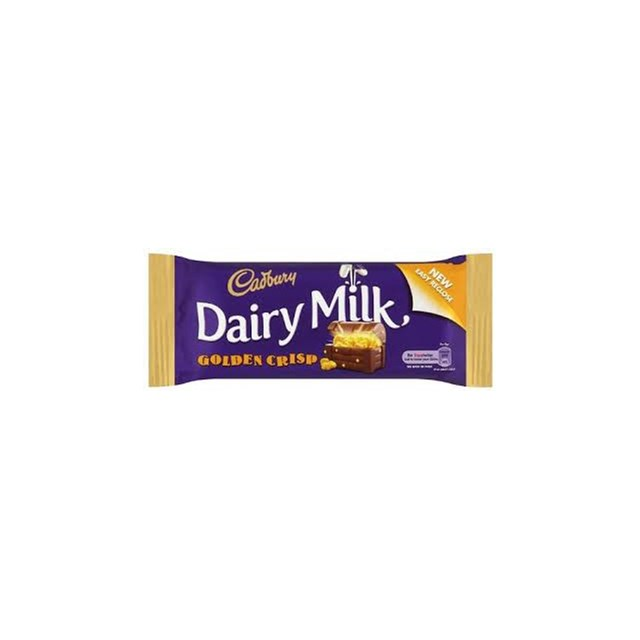DAIRY MILK IRISH GOLDEN CRISP