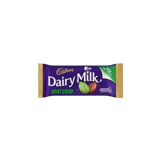 DAIRY MILK IRISH MINT CRISP