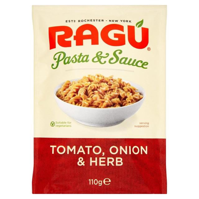 RAGU PASTA TOMATO ONION & HERB