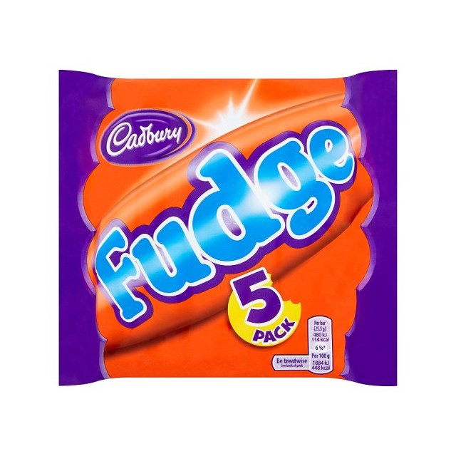 CADBURYS FUDGE (20 x  5 PACK)