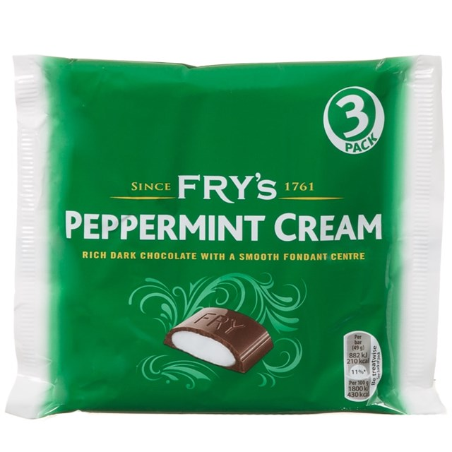 FRYS 3PACK PEPPERMINT CREAM
