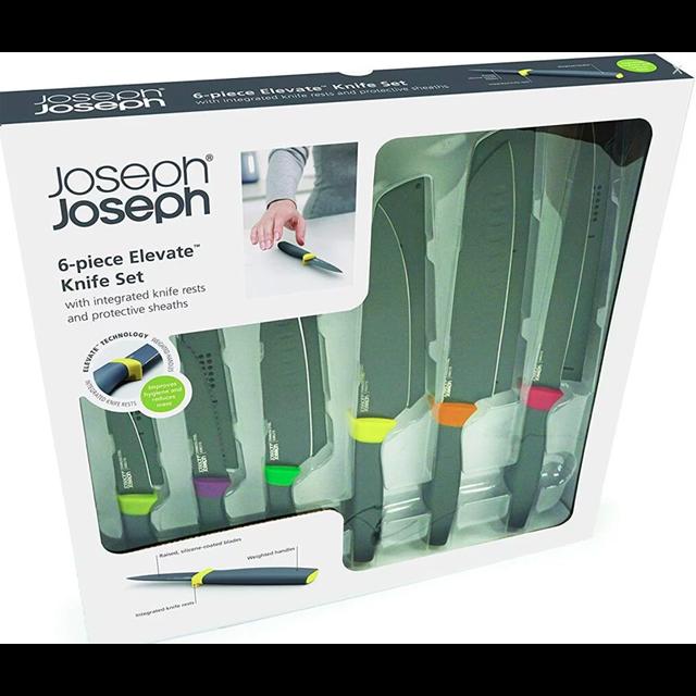 JOSEPH JOSEPH ELEVATE 6 PIECE KNIVES SET