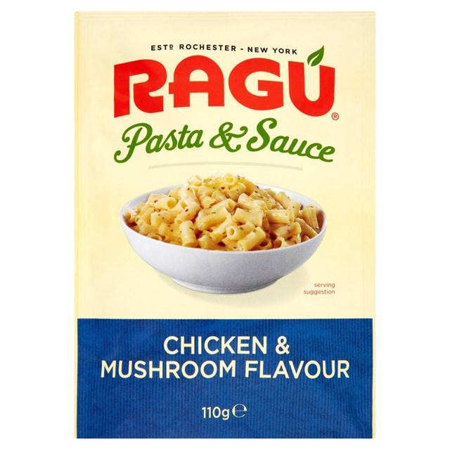 RAGU PASTA CHICKEN & MUSHROOM