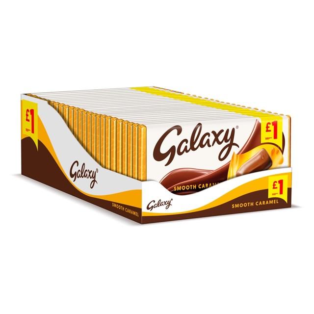GALAXY £1 CARAMEL