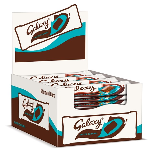 GALAXY SALTED CARAMEL 48g (24 PACK)