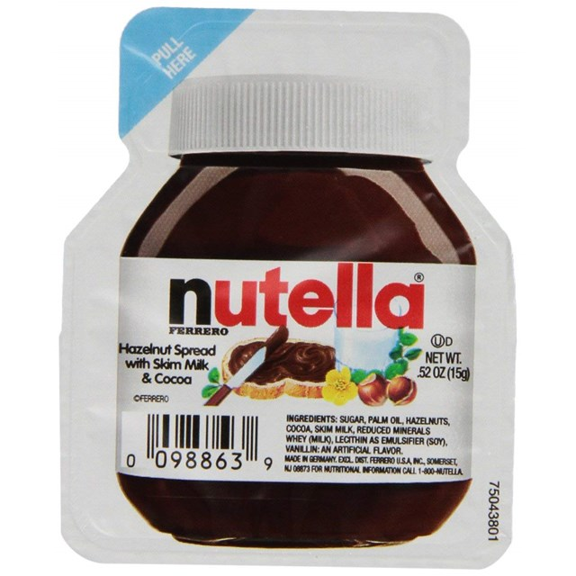 NUTELLA SMALL TUB