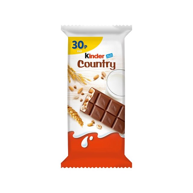 KINDER CHOCOLATE CEREAL 23g 30p (40 PACK)