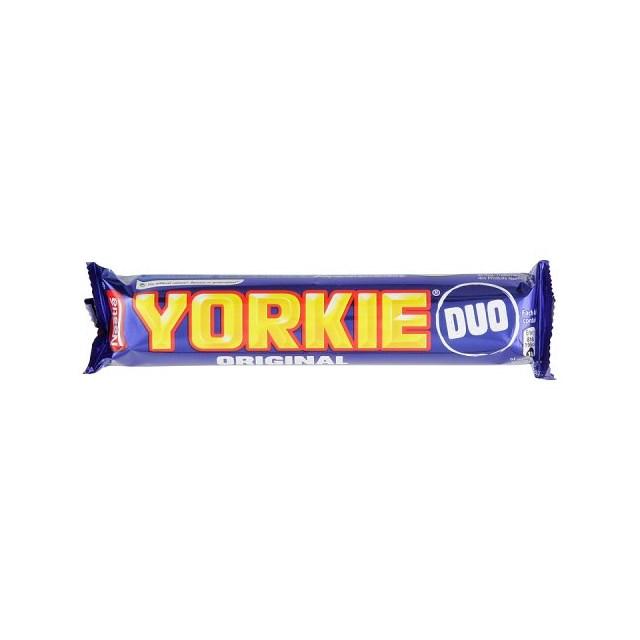 YORKIE MILK CHOCOLATE DUO 72g (24 PACK)