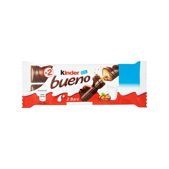 KINDER BUENO Twin Pack 60P (30 PACK)