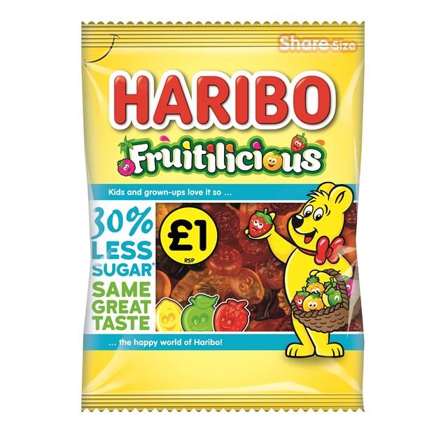 HARIBO £1 FRUITILICIOUS