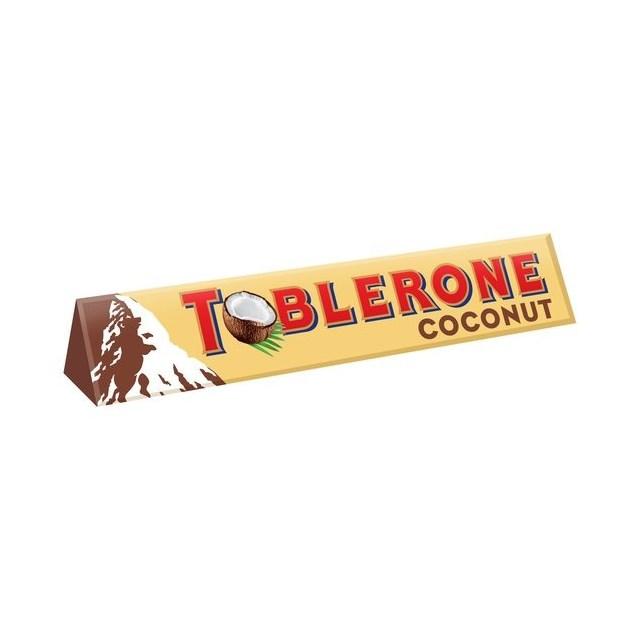 TOBLERONE COCONUT MILK CHOCOLATE BAR 360g (10 BARS)