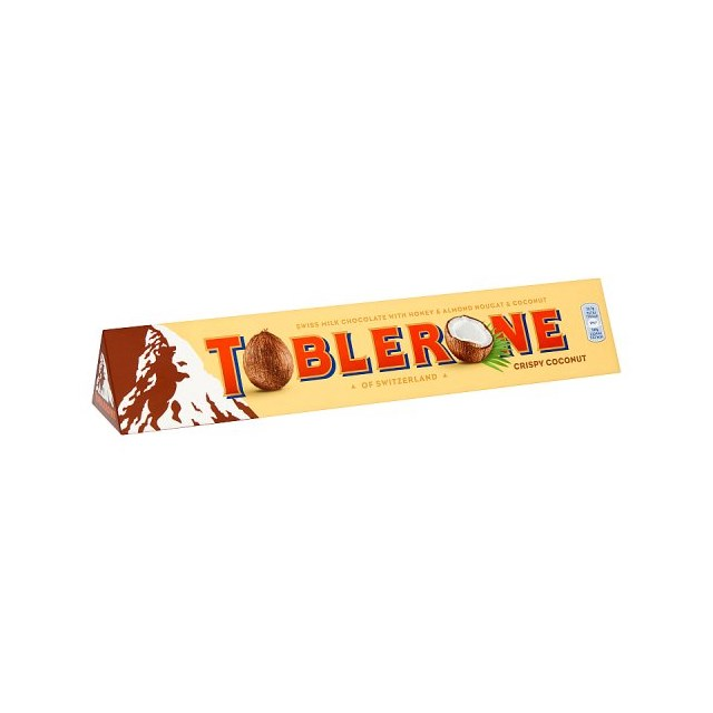 TOBLERONE COCONUT MILK CHOCOLATE BAR 360g
