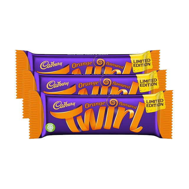 TWIRL ORANGE 43g (3 PACK)