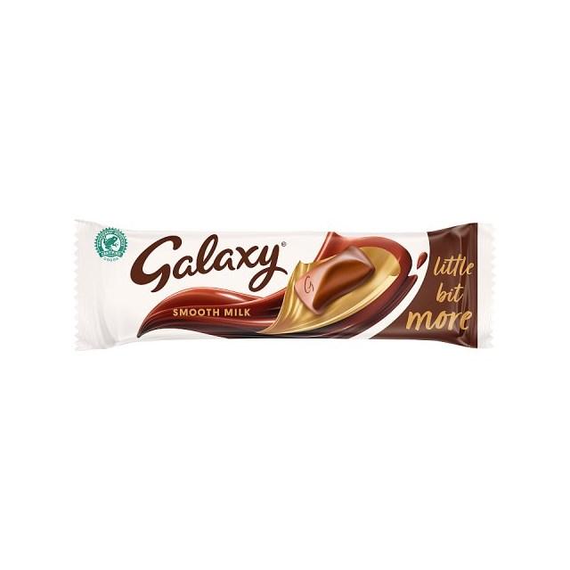 GALAXY LITTLE BIT MORE 75g (24 PACK)