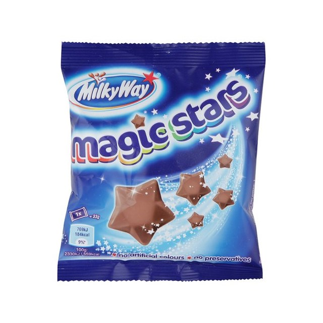 MILKY WAY MAGIC STARS 36 TREAT BAGS