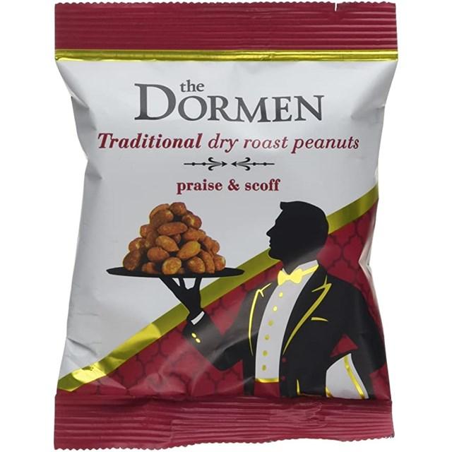 DORMEN NUTS DRY ROASTED PEANUTS 50G
